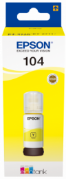 Epson 104 EcoTank Yellow ink bottle