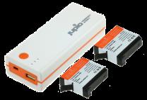 Jupio PowerVault Action 4 +2x AHDBT401