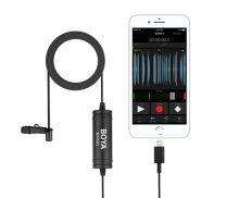 Boya Lavalier mic iOS mobile devices