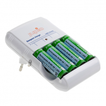 Jupio Compact Charger with 4xAA DirectP