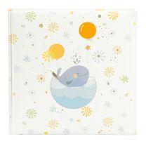 Goldbuch Little Whale blue 25x25/60 trad.