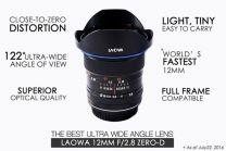 Laowa Sony E 12mm f/2.8 Zero-D black