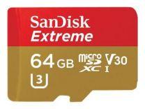 SanDisk Extr. Micro SDHC V30 64GB/ 90mb/