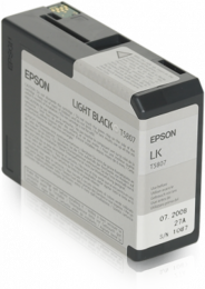 Epson T5807 Light Black 80ml (3880/3800)