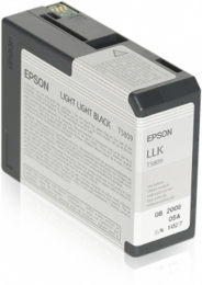Epson T5809 L.Light Black 80ml 3380/3800
