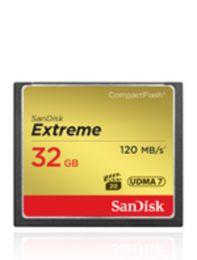 SanDisk Extreme CF UDMA7 32GB-120mb/s