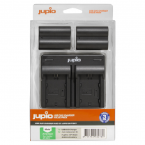 Jupio Value Pack NP-W235 2x Battery+USB Dual Charger