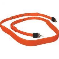 Leica T Neck strap silicon orange-red