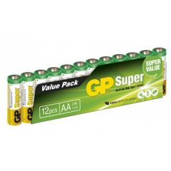 GP Super AA 15A/LR6 12PACK