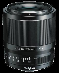 Tokina Fuji-X atx-m 33mm AF F1.4