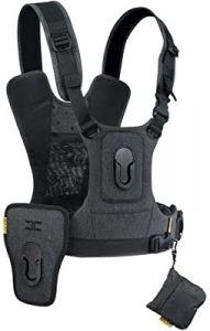 Cotton CCS G3 camera harness 2 charcoal grey