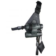 Cotton skout sling style harness for binoculars